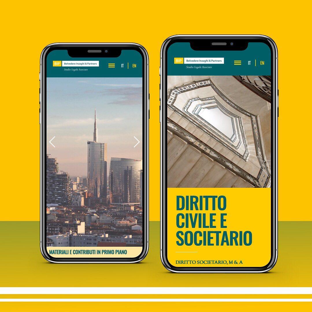 Arachno realizza il nuovo restyling del sito Belvedere Inzaghi & Partners