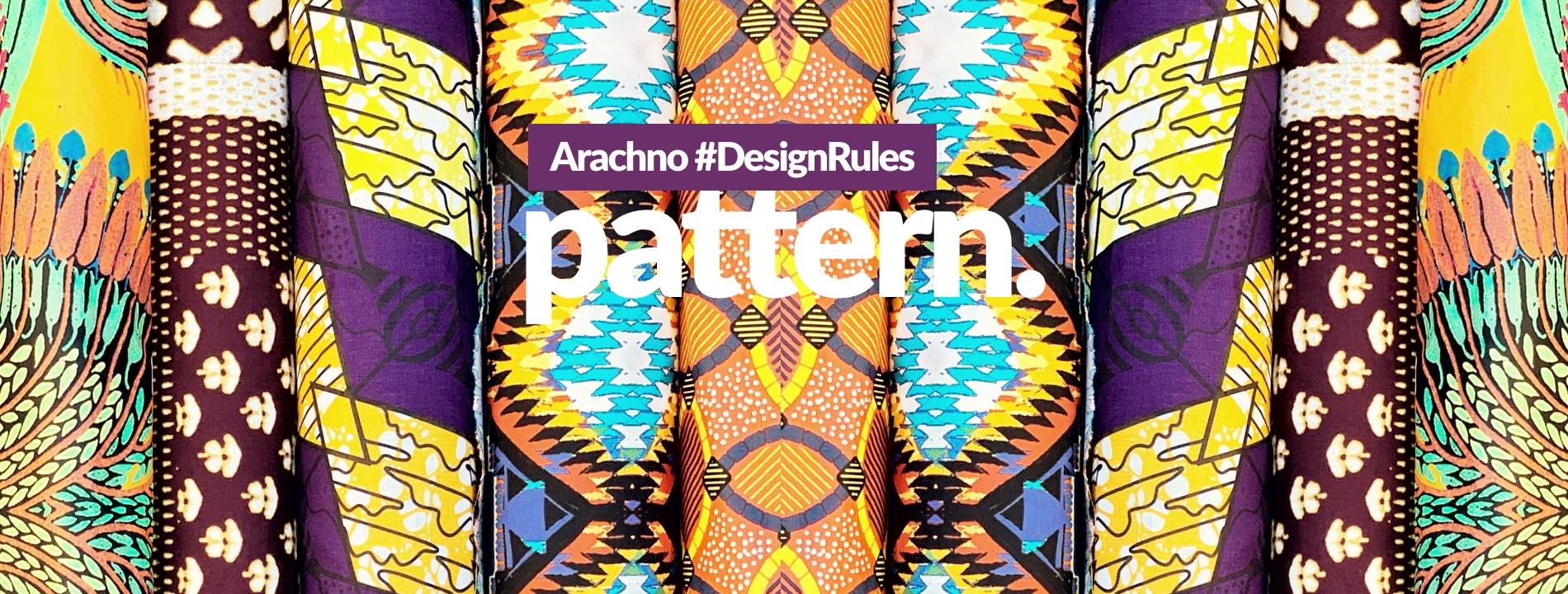 Arachno #DesignRules - pattern