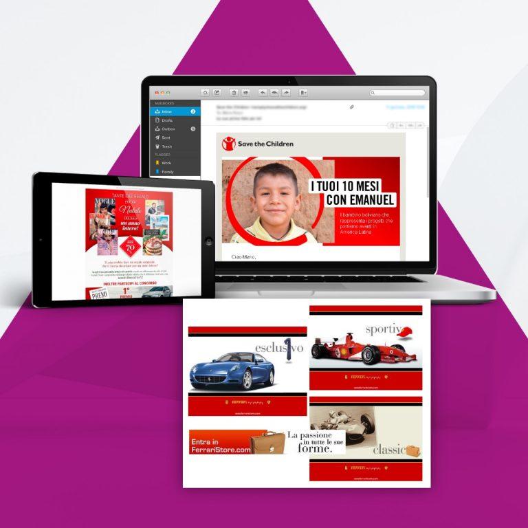 Arachno - servizi - Banner e-mail marketing