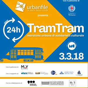 #TramTram - maratona urbana di solidarietà culturale