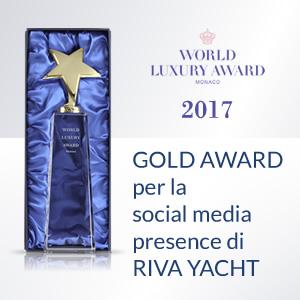 Arachno vince WLA 2017 con social media di Riva Yacht