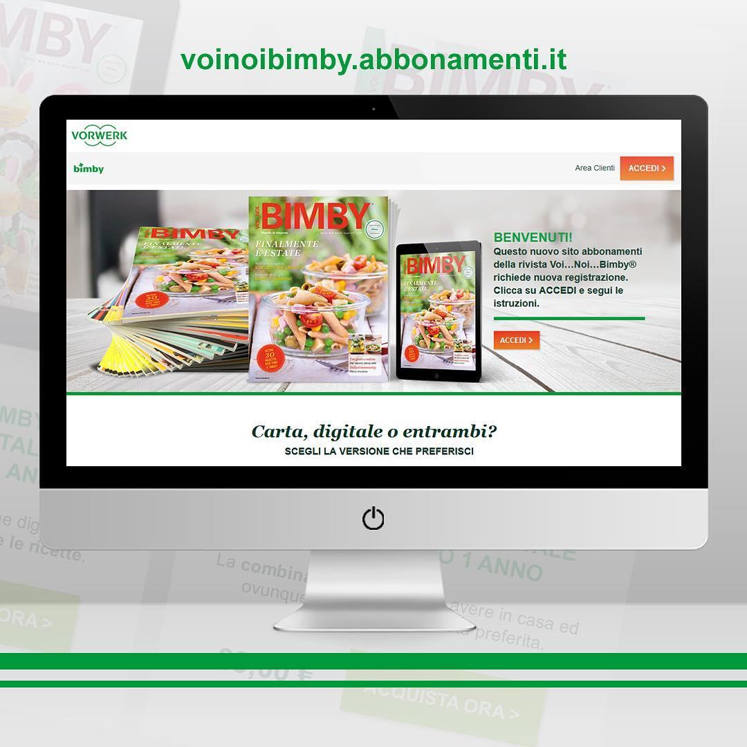 È online il nuovo product-site di e-commerce per la rivista Bimby