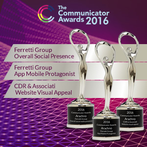 Ad Arachno il prestigioso Communicator Award