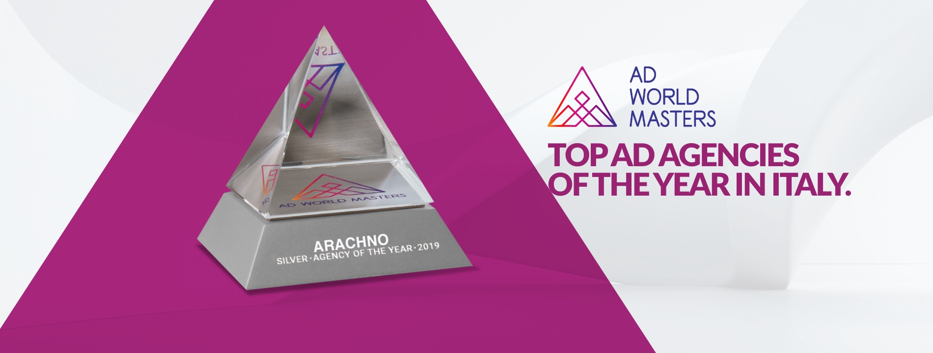 Arachno - Award Top AD Agencies of the Year in Italy