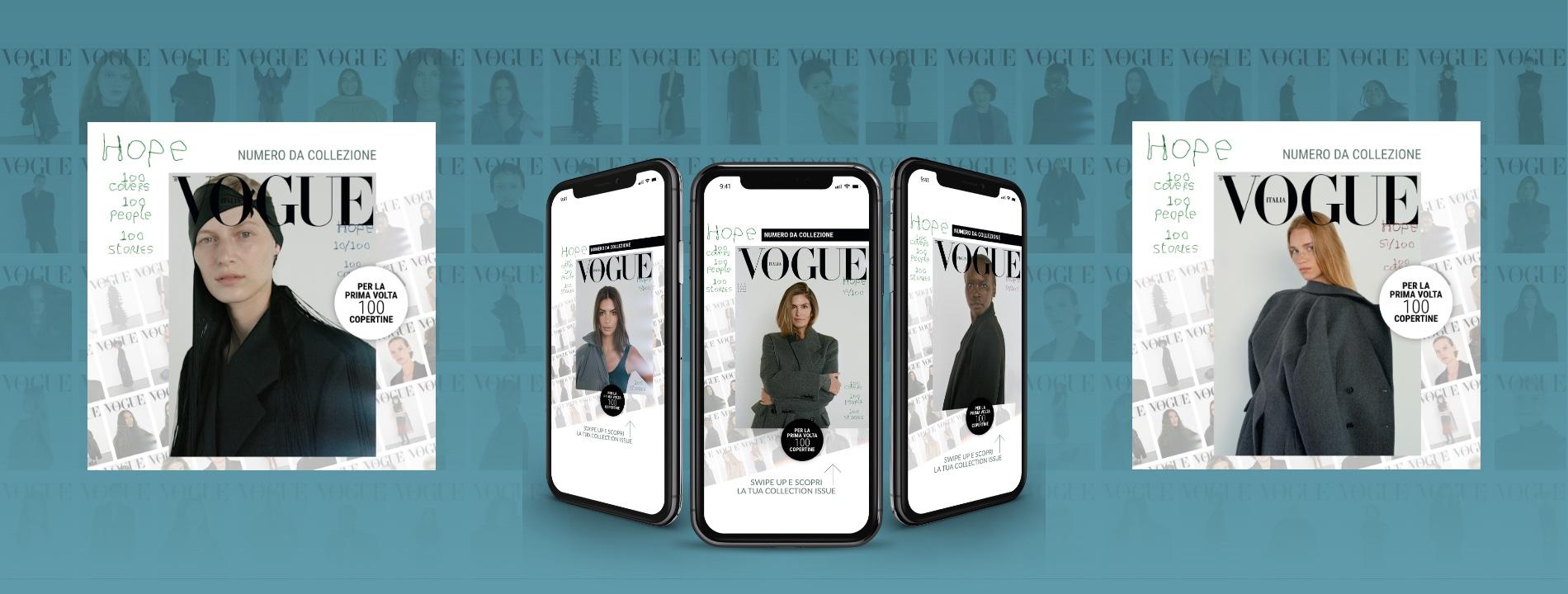Vogue Italia sceglie Arachno per la campagna digital di Vogue Hope
