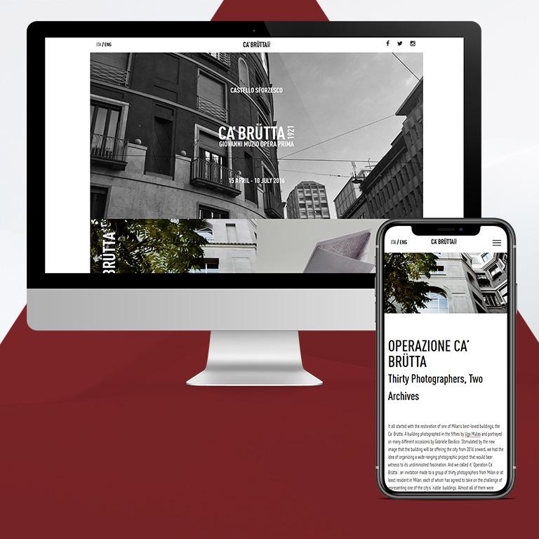 Arachno - Portfolio - Ca' Brutta website
