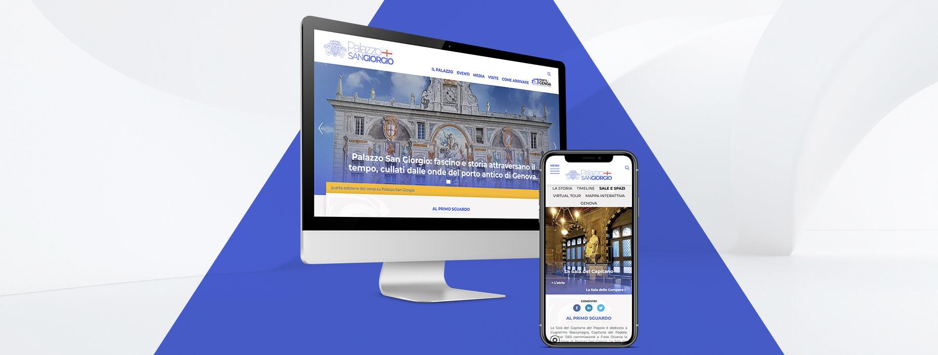 Arachno Digital Agency - Portfolio - Palazzo San Giorgio