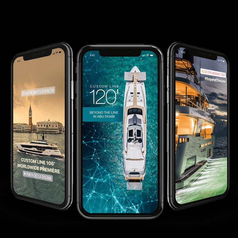 Arachno Digital Agency - Premi e riconoscimenti - Custom Line Yacht - Social media Management
