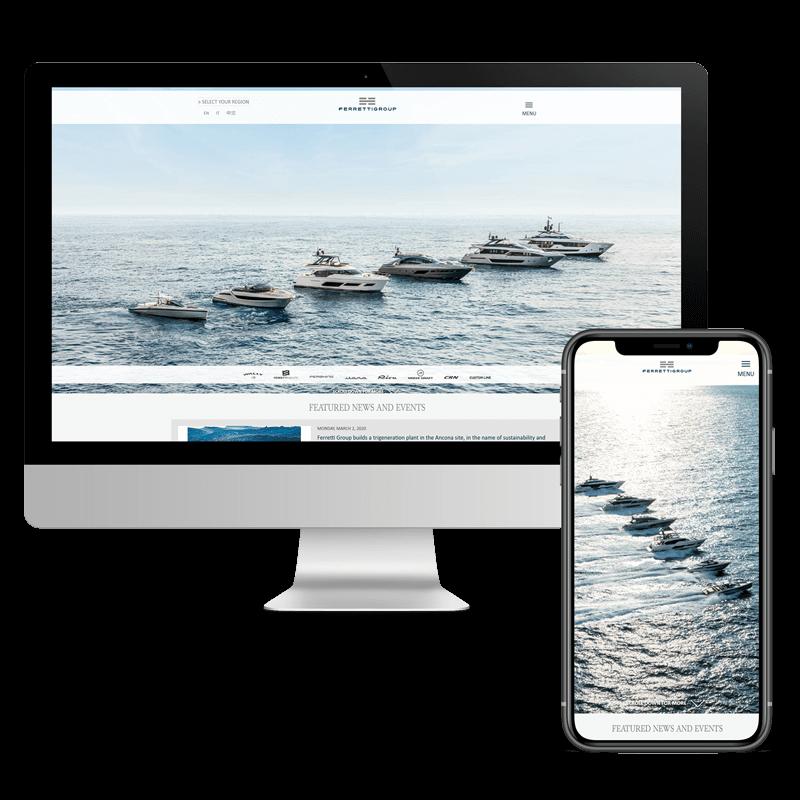 Arachno Digital Agency - Premi e riconoscimenti - Ferretti Group website