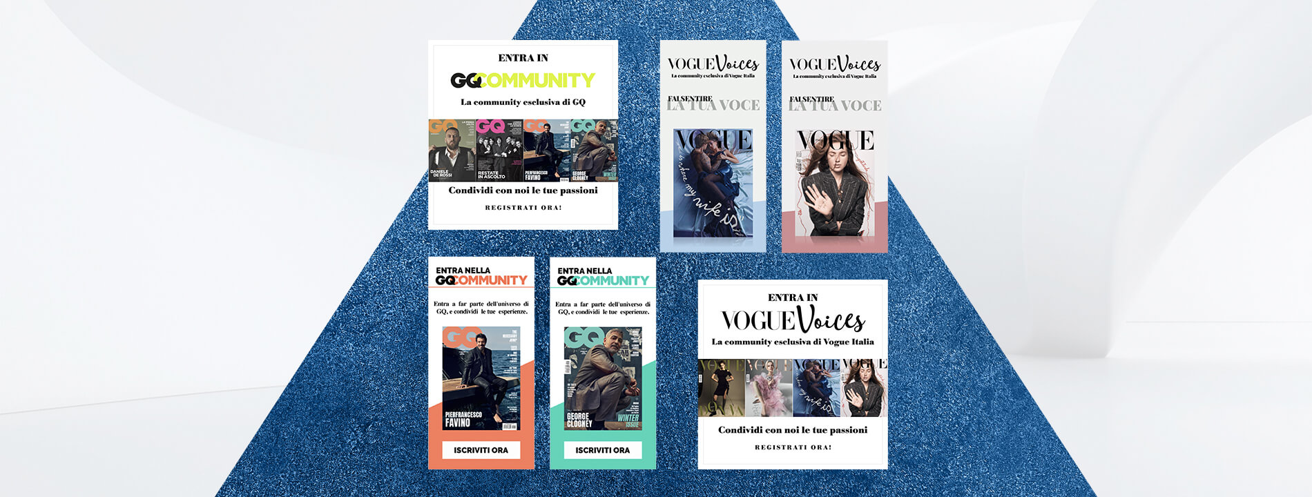 Arachno Digital Agency - Portfolio - Vogue Voices / GQ Community