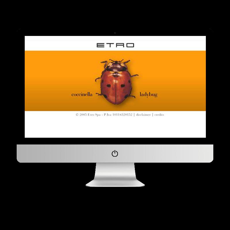 Arachno Digital Agency - Premi e riconoscimenti - Etro