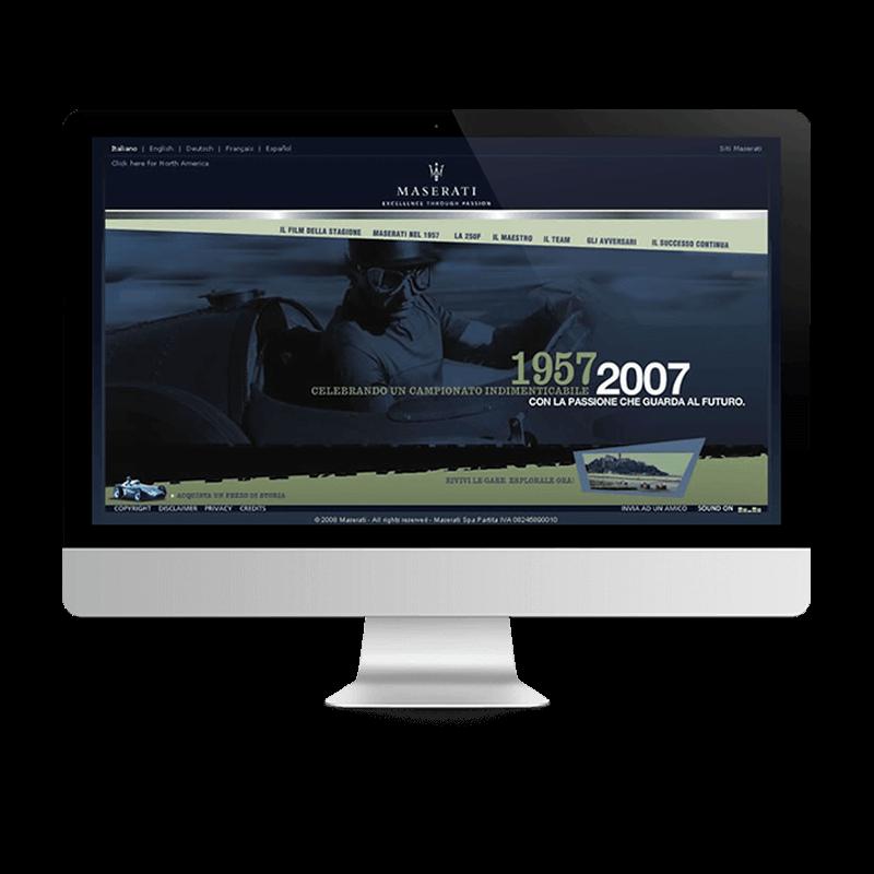 Arachno Digital Agency - Premi e riconoscimenti  - Maserati Celebrates Fangio