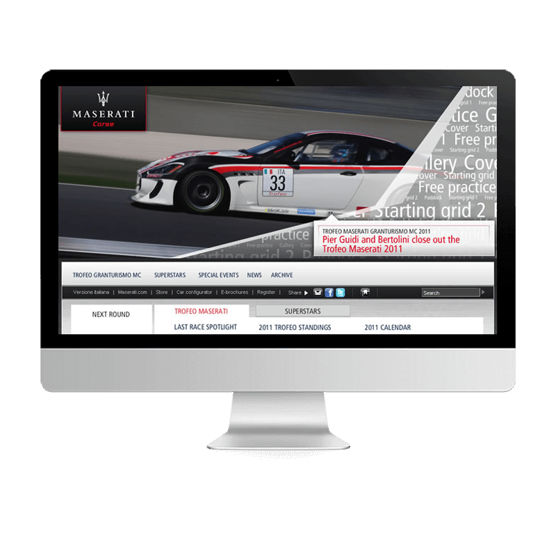 Arachno Digital Agency - Premi e riconoscimenti  - Maserati Corse