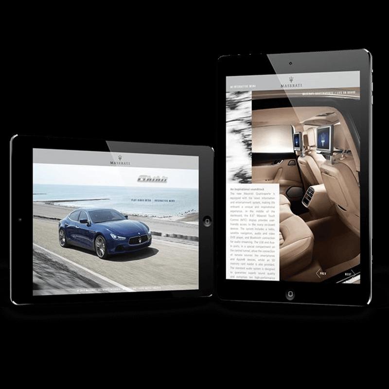 Arachno Digital Agency - Premi e riconoscimenti  - Maserati E-Brochure