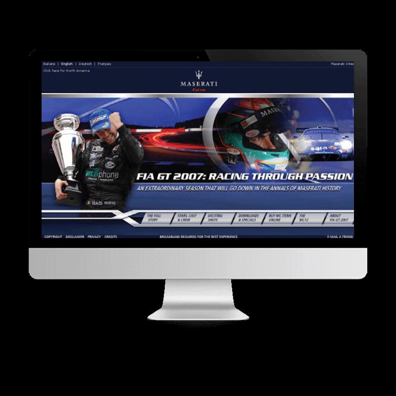 Arachno Digital Agency - Premi e riconoscimenti  - Maserati FIA GT