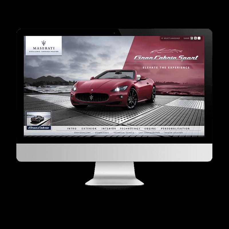 Arachno Digital Agency - Premi e riconoscimenti  - Maserati GranCabrio Sport