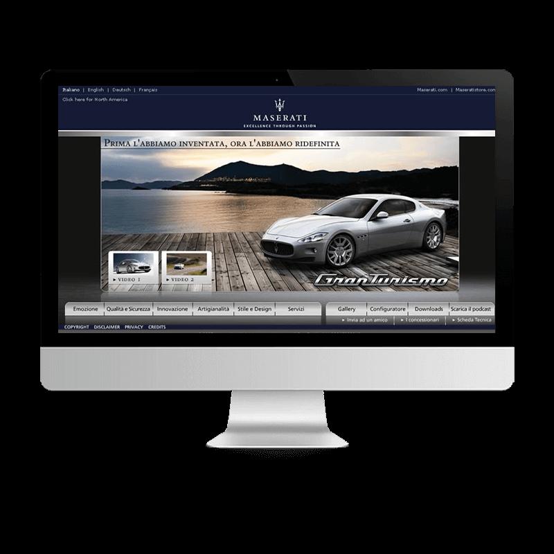 Arachno Digital Agency - Premi e riconoscimenti  - Maserati GranTurismo