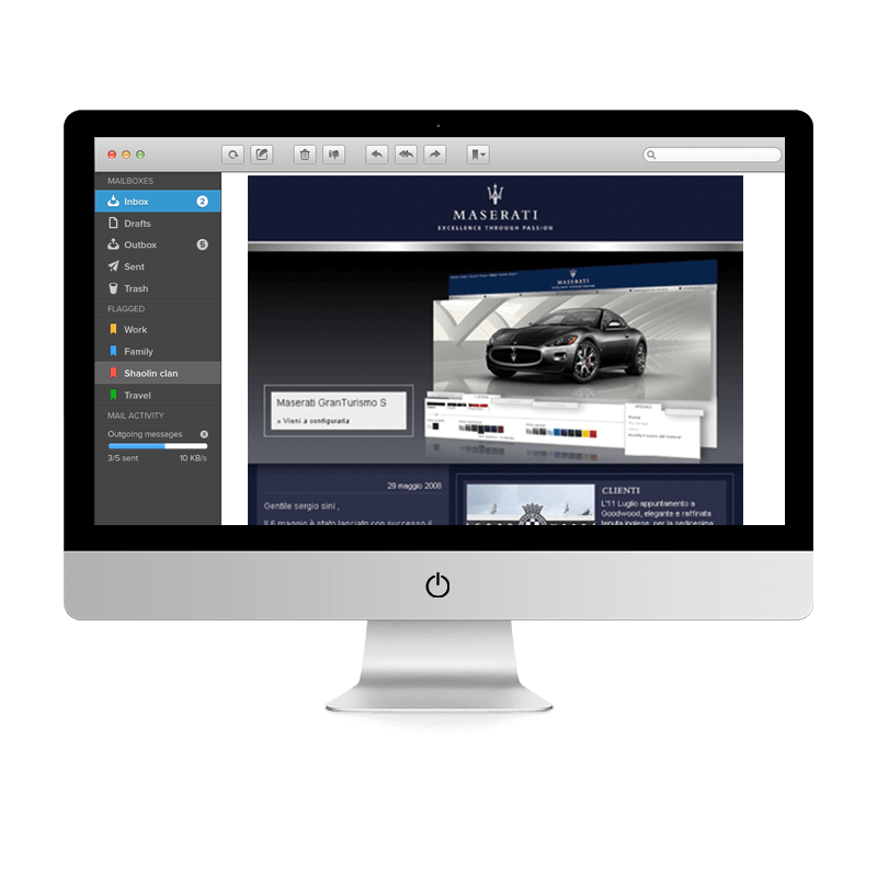 Arachno Digital Agency - Premi e riconoscimenti  - Maserati Newsletter