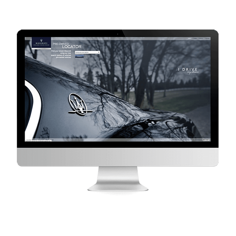 Arachno Digital Agency - Premi e riconoscimenti  - Maserati Pre-owned Locator