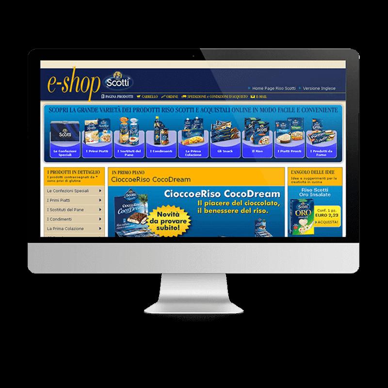 Arachno Digital Agency - Premi e riconoscimenti  - Riso Scotti E-Shop