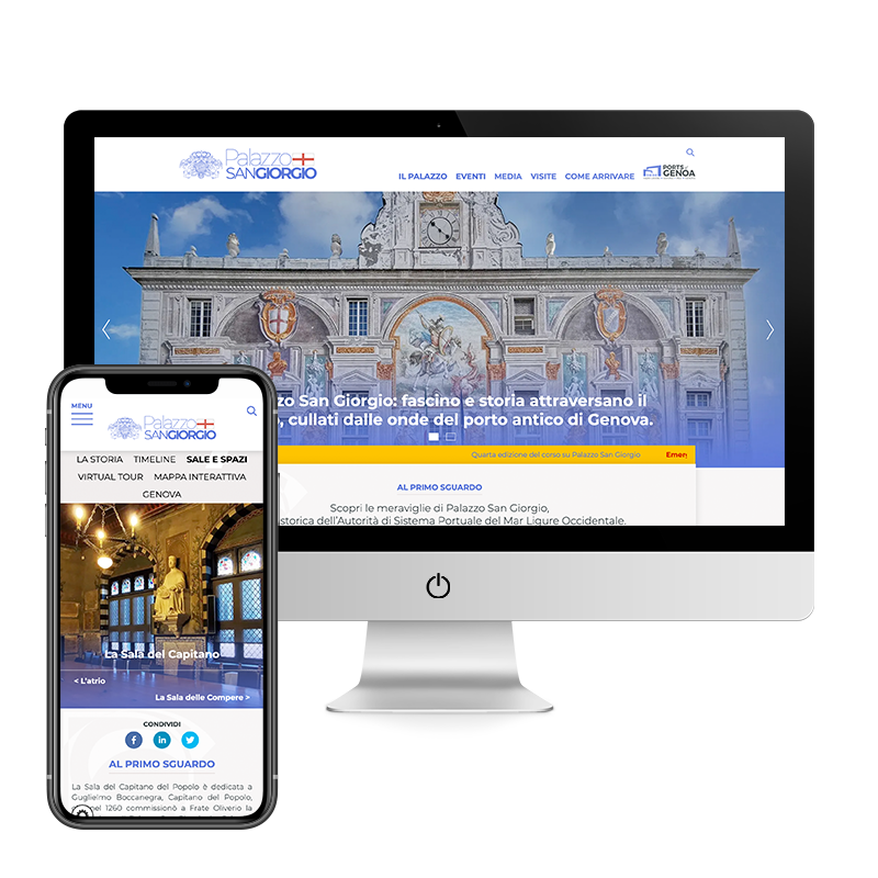 Arachno Digital Agency - Premi e riconoscimenti - Palazzo San Giorgio