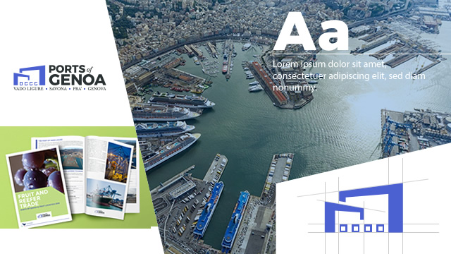 Ports Of Genoa Corporate Identity