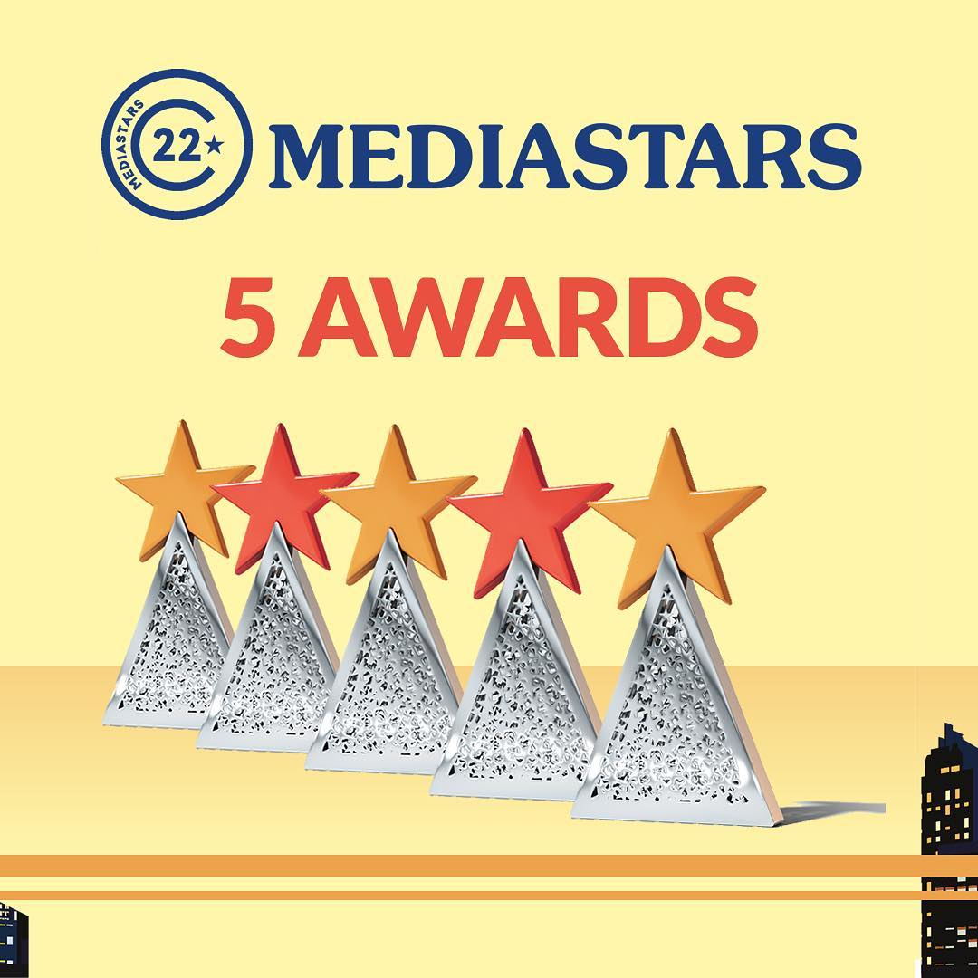 Arachno trionfa a Mediastars con ben 5 vittorie e 6 special stars