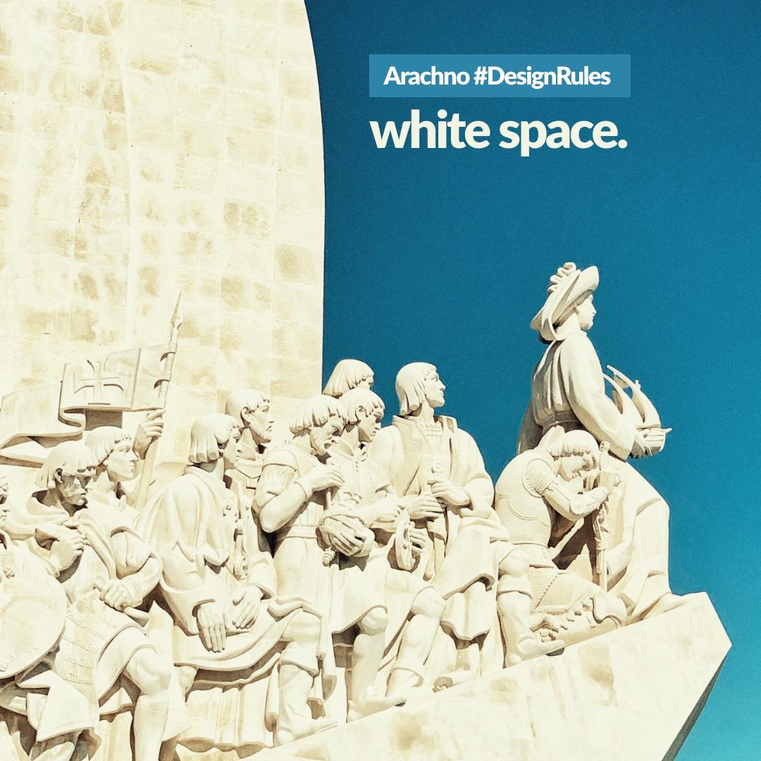 Arachno #DesignRules 03 - il white-space